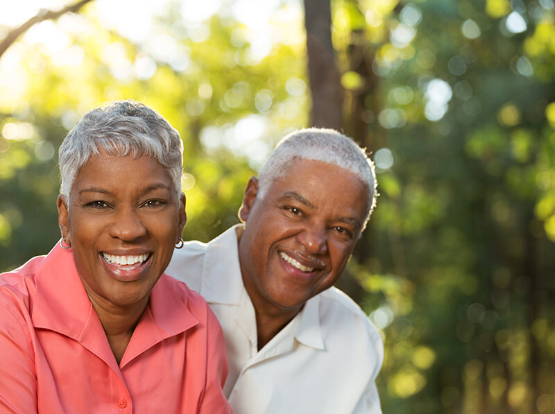 Mature African American Couple
