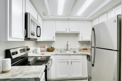 Edgewater Two Bedroom Model Kitchen