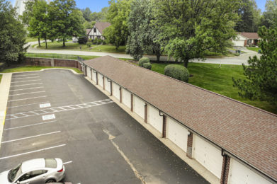 Garage Drone View