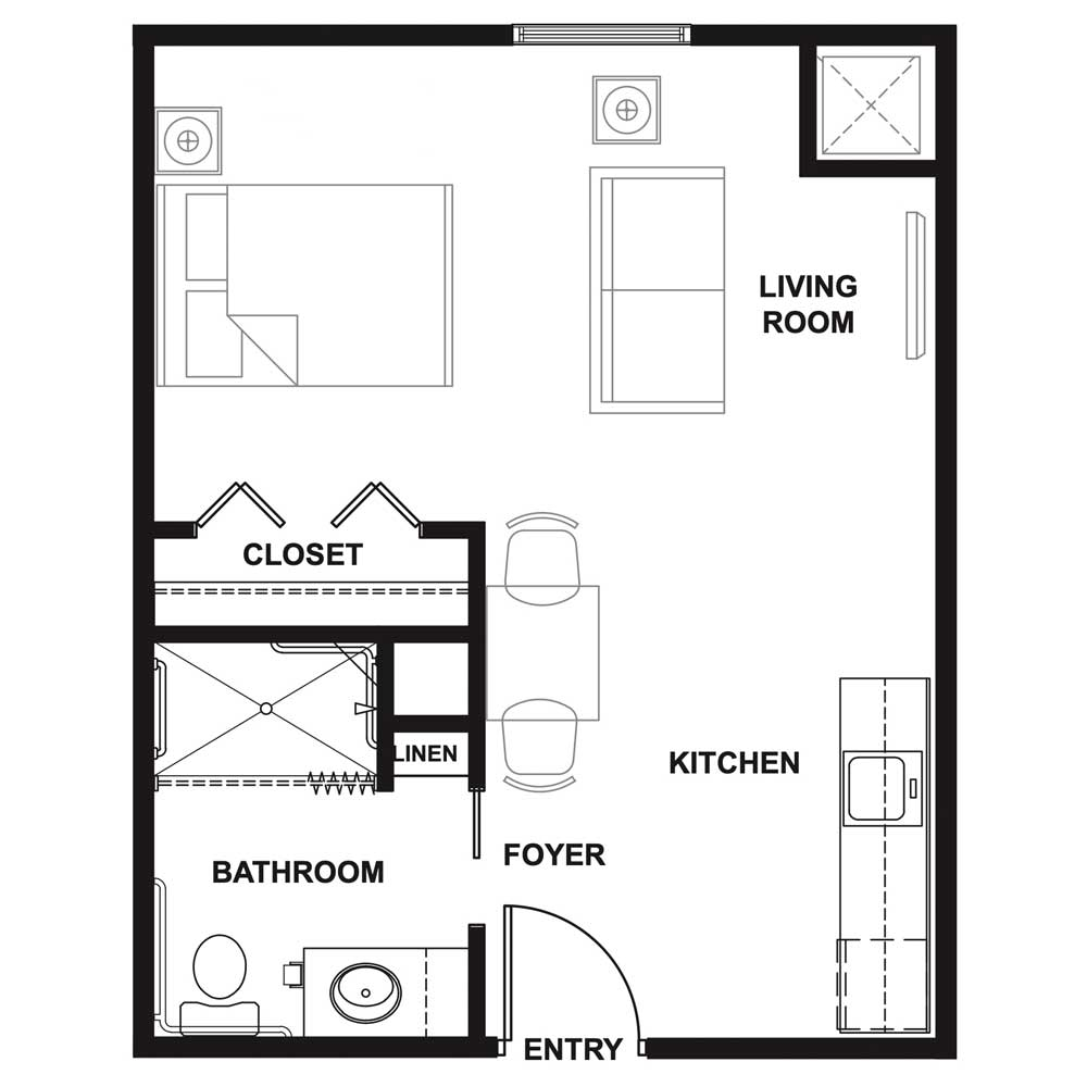 Breezewood-Suite-_-One-Bathroom-380 Sq. Ft.